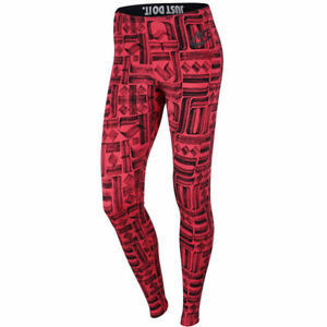 look good shoes sale special sales various design Details about Nike Leg-A-See AOP Leggings Women 805537-850 Ember Glow Tight  Extra Small XS NEW