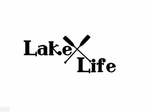 Lake Life Vinyl Decal