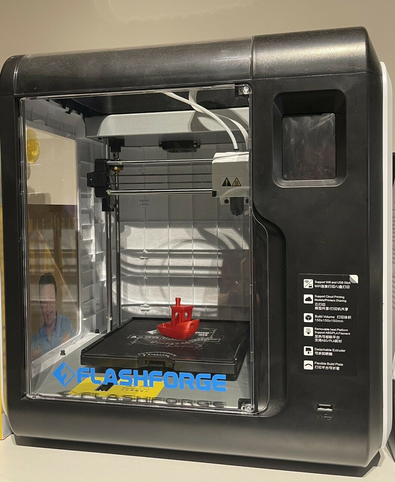 Flashforge Adventurer 3 3D PRINTER COMPLETE STARTER Bundle Everything Included