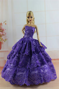 Fashion Princess Party Dress/Evening Clothes/Gown For 11.5in.Doll S344