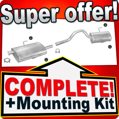 Renault Espace 3 III 2.0 1.9 dTi 2.2 dT 2.2 12V TD Exhaust Silencer 451