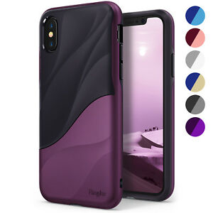 For iPhone X XS XR XS Max Ringke [WAVE] Shockproof Dual Layer Design Case Cover