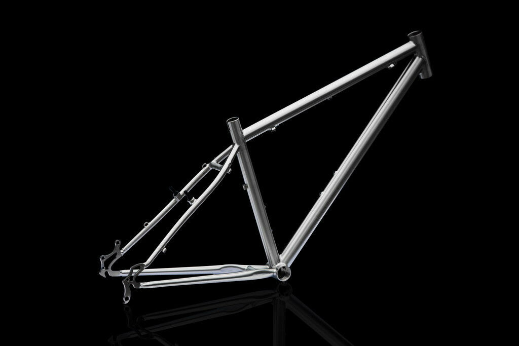 J&L Titanium 29er frame-XC Ti-1422 -Double Butted