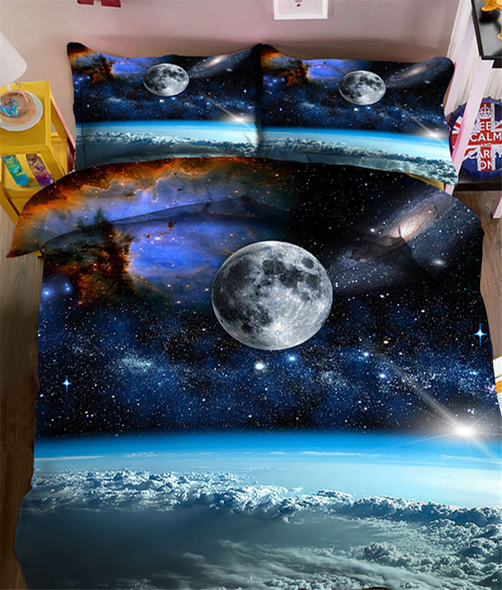 Ethereal Universe 3D Printing Duvet Quilt Doona Covers Pillow Case Bedding Sets