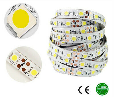Wholesale 5M 505012V Cool White SMD Super 300Leds Non-waterproof LED Strip Light
