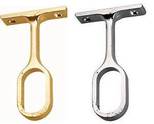 oval kleiderschrank stange mittel unterst tzung schrank schienen halterung gold ebay. Black Bedroom Furniture Sets. Home Design Ideas