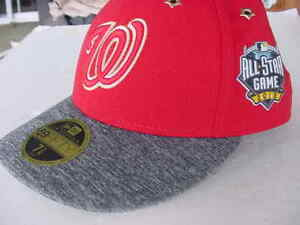 aaae036700d Washington Nationals 2016 MLB All Star Game New Era 59FIFTY Fitted ...