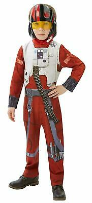 Official Licensed Poe Star Wars X-wing Fighter Classic Child Costume-mostra Il Titolo Originale Aspetto Attraente