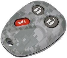 Custom 2002-2009 GM Key Fob Camo Camouflage Dorman Keyless New Free Shipping USA