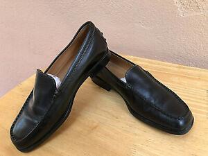 luxueux-mocassins-en-cuir-noir-femme-TOD-039-S-pointure-36-1-2-excellent-etat