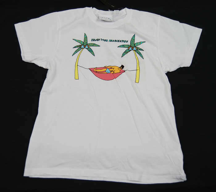 MARC JACOBS Imagination T-Shirt White S M L NWT