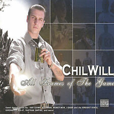 CD CHIL WILL ALL FRAMES OF THE GAME XPLCT RAP~RARE/MINT