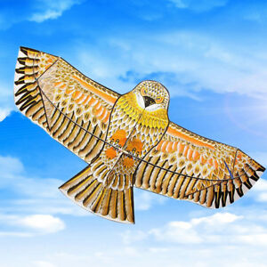 Riesige-1-1m-Eagle-Kite-Einzellinie-Neuheit-Animale-Kinder-Outdoor-Spielzeug
