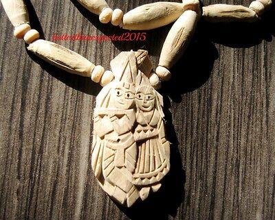 "Tulsi Mala Kanthi Small Beads Mala 28/"" Necklace Bracelet Japa Mantra Yoga Prayer"