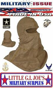 NEW Military Issue Balaclava Hood Antiflash Flame Resistant Lightweight Kevlar