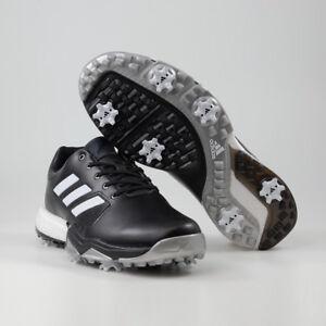 new style 3dfcf 3297f Das Bild wird geladen Adidas-adipower-Boost-3-Herren-Golfschuhe -WIDE-Schwarz-