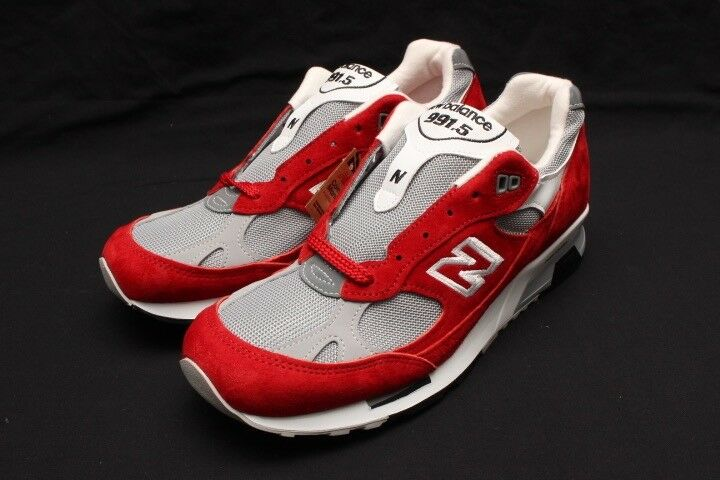 NEW BALANCE MADE IN THE THE THE ENGLAND  - M9915AA RED GREY 2c2bcb