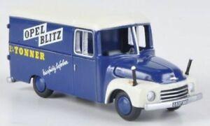 Opel Blitz 1.75T Kastenwagen Werbewagen Edition 2012 | BUB | 1:87