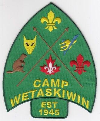 Camp Wetaskiwin 75th Annversary Crest #3 of 3