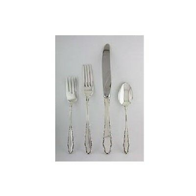 Sterling Silver Flatware Reed And Barton English Provincial Salad Fork