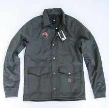 NWT Men's DC Water Resistant Jacket Coat S Small NEW Gray $80
