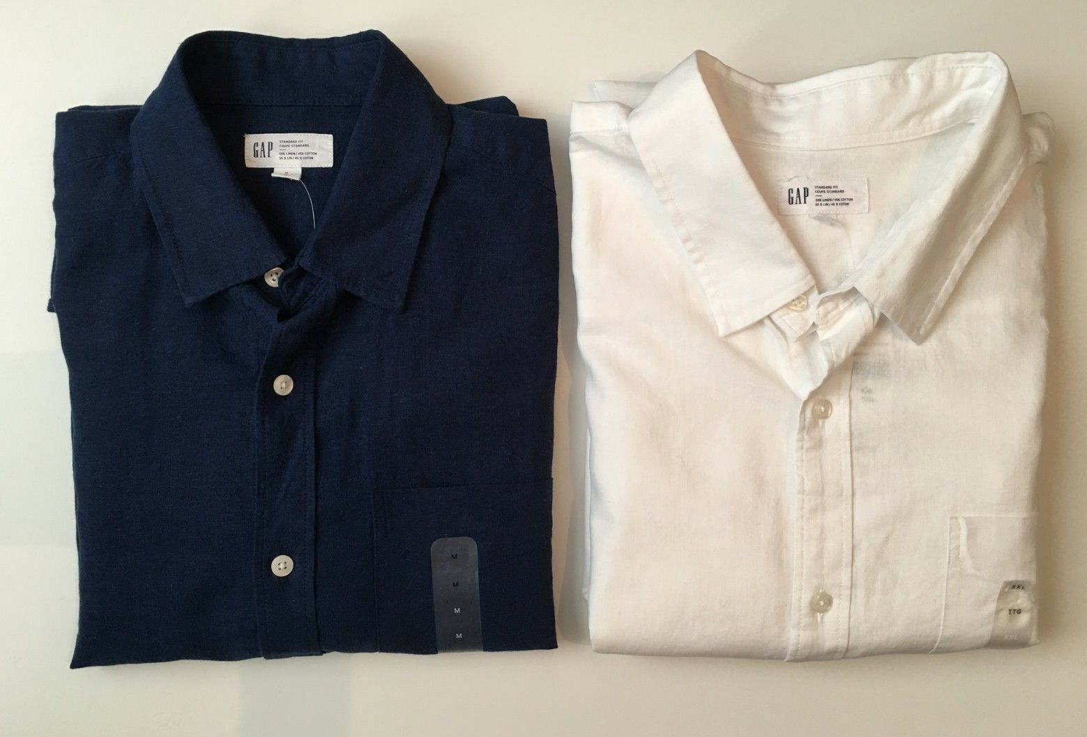 GAP Linen Blend Standard Fit Shirt