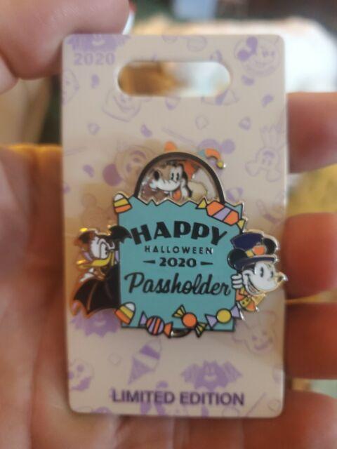 2020 Annual Passholder Halloween Pin Disney Parks Happy Halloween Annual Passholder Pin Le 5000 AP