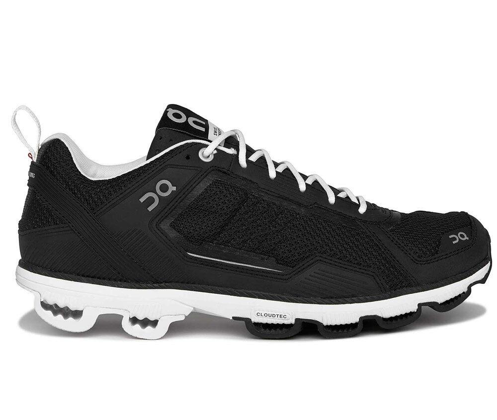 Ejecución de zapatilla de deporte zapatos Cloudrunner hombres Zapatillas negro blancoo