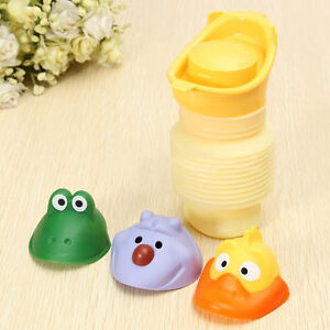 1pc Plastic Car Travel Camping Kid Training Pee Toilet Potty Urinal Portable