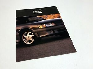 1992 Ford Mustang Brochure