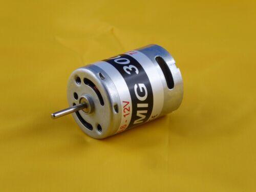 Elektromotor MIG 300 7,2V mit Hochleistung für EDF usw. Flugmodelle bis 0,8kg