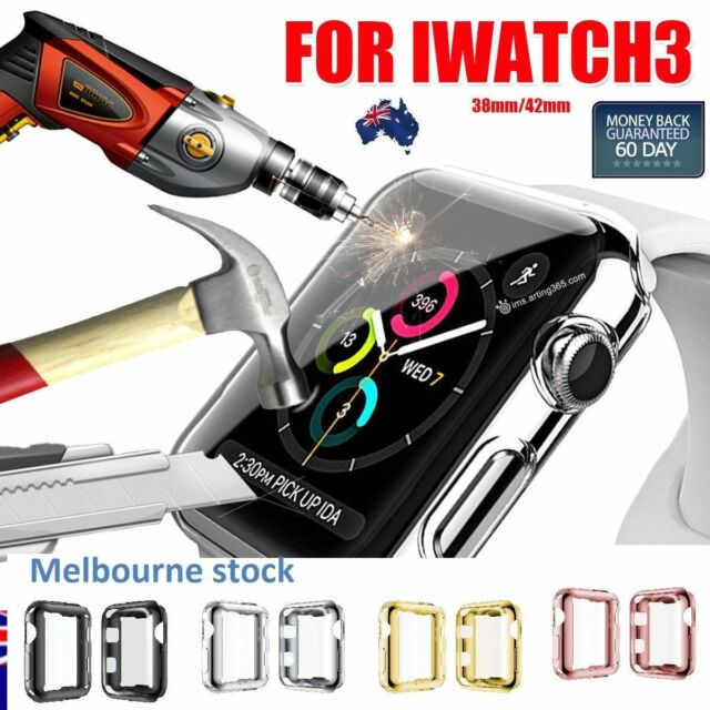 Apple Watch Slim Screen Protector Case for 38 & 42mm Cover iWatch Series 1 2 3 4