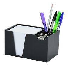 Acrimet Desk Organizer Pencil Paper Clip Holder Black With Paper
