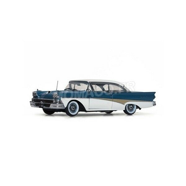 Sunstar - FORD FAIRLANE 500 HARD TOP 1958 THE CAR THAT WENT AROUND THE WORLD1/18