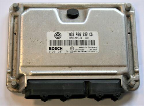 VW Polo 1.4 AUD Engine Control Unit ECU 030906032CG 030 906 032 CG