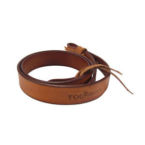 Tourbon-Genuine-Leather-Shotgun-Sling-Rifle-Gun-Strap-Adjusted-2-Point-Shooting