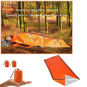 Camping-Thermal-Sleeping-Bag-Emergency-Survival-Hiking-Blanket-Gear-Kit-Outdoor