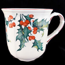 """HOLLY Villeroy & Boch MUG 3.5"""" tall NEW NEVER USED made in Luxembourg PORCELAIN"""