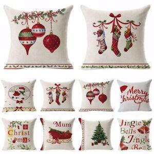 18-034-Cotton-Linen-Sofa-Home-Car-Waist-Cushion-Cover-Throw-Pillow-Case-Xmas-Decor