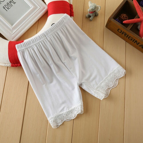 Toddler Children Kid Girls Solid Lace Safety Pants Shorts Underwear Pant Clothes