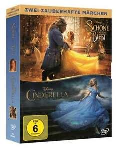 La bella e del previsto (2017) + Cinderella (2015) [2 DVD's/Nuovo/Scatola Originale] realverfilm