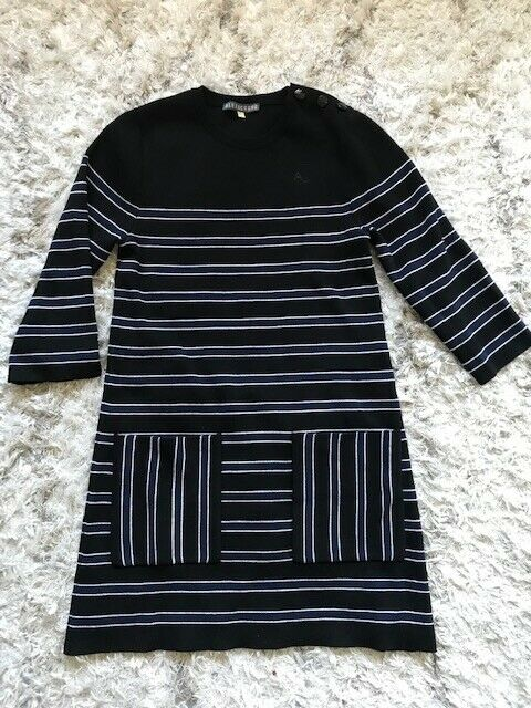Alexa Chung Mini Kleid Wolle gestreift Gr. S NEU