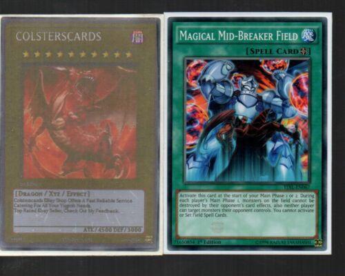Magical Mid-Breaker Field TDIL-EN067 1st Edition Yugioh Card