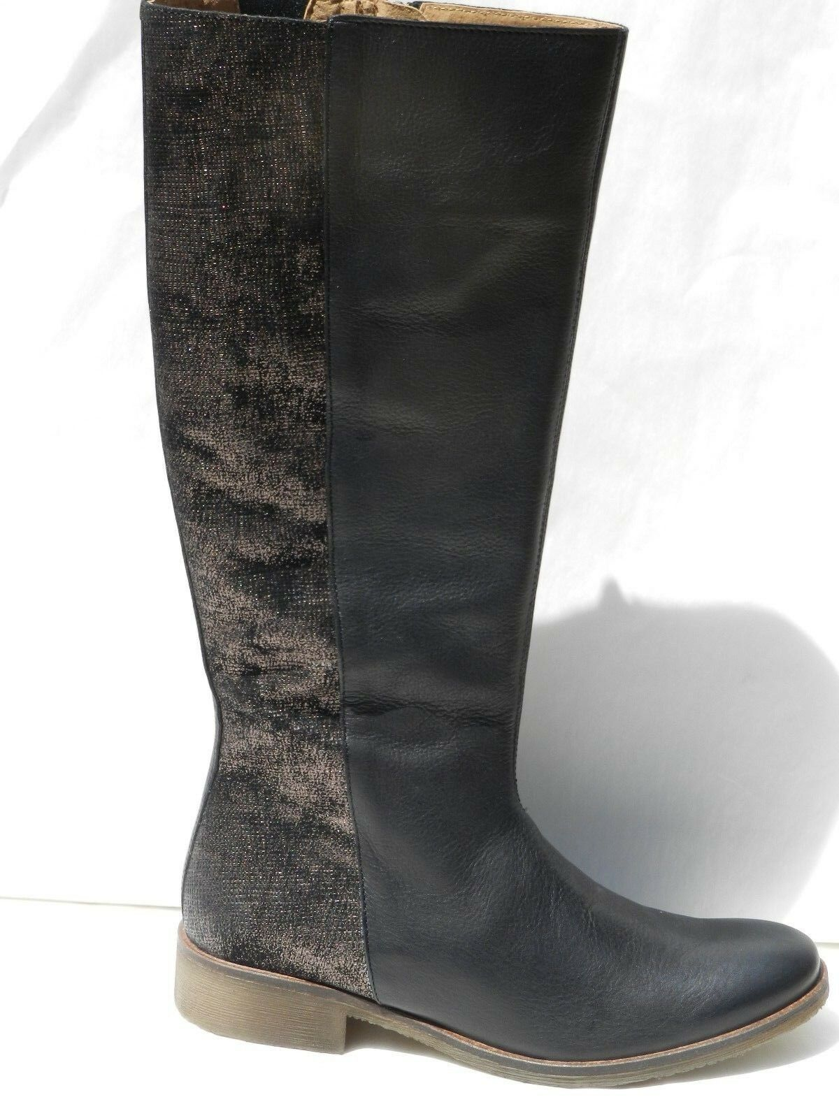 Bottes Kickers Leging Chaussures Femme 38 38 38 Cavalières Genou Tall Bottes UK5 Neuf 4b53d1