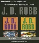 J.D. Robb in Death CD Collection Ndulgence in Death: Fantasy in Death/Indulgence in Death by J D Robb (CD-Audio, 2014)