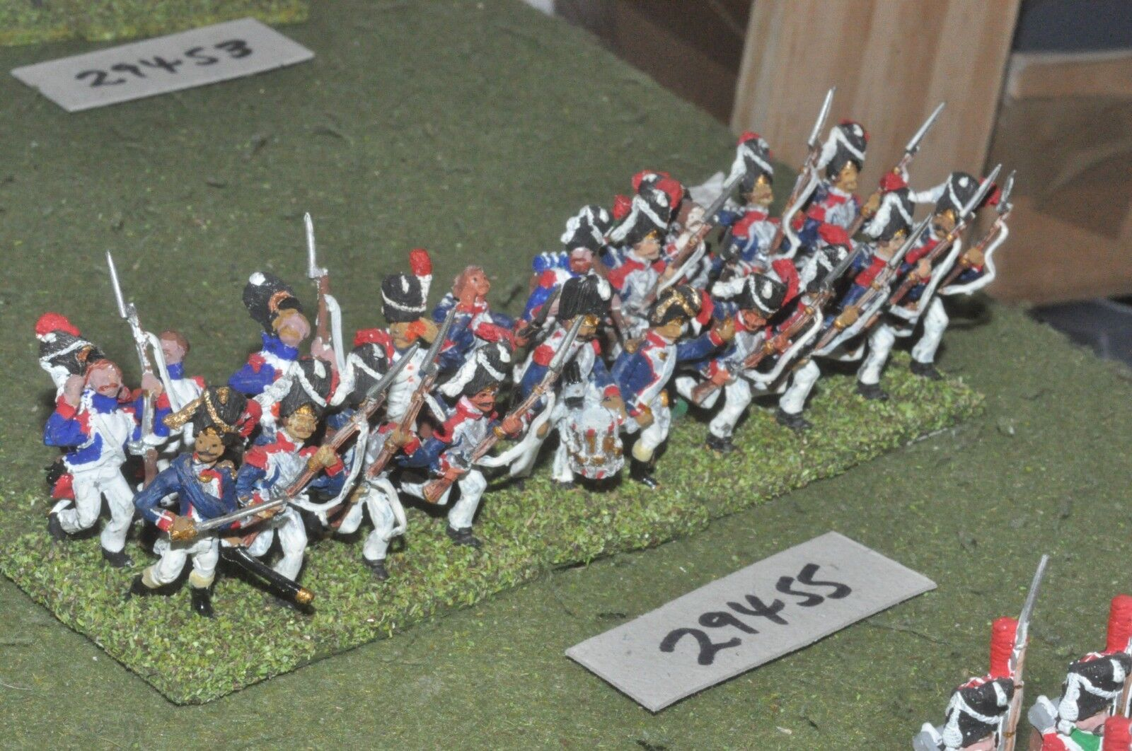25mm napoleonic   french - grenadiers of guard 20 figures - inf (29455)