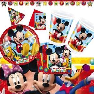 Disney Mickey Mouse Partydeko Kindergeburtstag Geburtstag