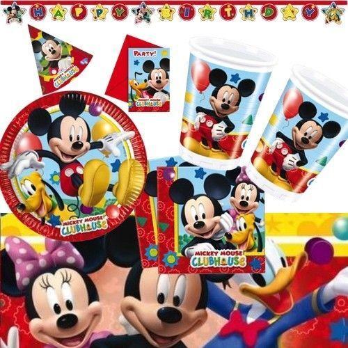 Tischdecke Mickey MouseTischtuch 120 x 180 cmMicky MausGeburtstag