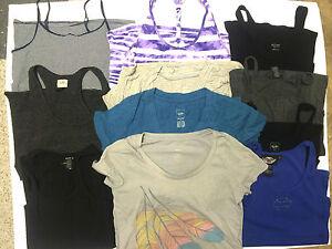Lot-11-Women-039-s-Juniors-Size-Medium-Tanks-Shirts-Harley-Casual-4251