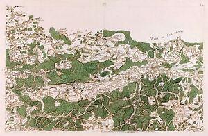 MAP-ANTIQUE-CASSINI-FRANCE-18TH-CENTURY-ARDENNES-REPLICA-POSTER-PRINT-PAM0749